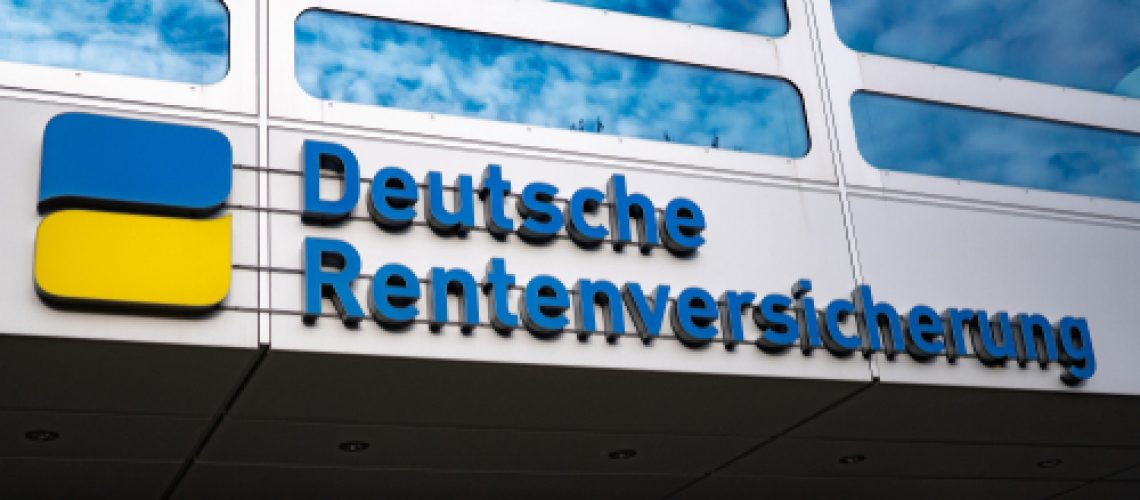 Berlin,/,Germany,-,Jen,31,,2019:,Deutsche,Rentenversicherung,Building,