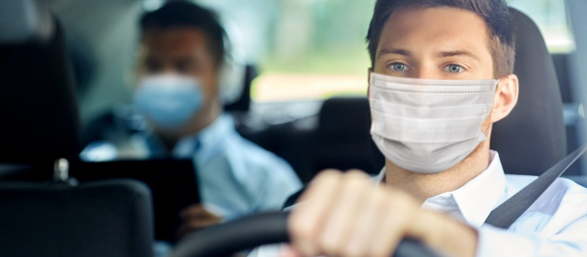Health,Protection,,Safety,And,Pandemic,Concept,-,Male,Taxi,Driver